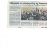 Nieuwsblad Geldermalsen - foto secretaressebijeenkomst 12-11-2015
